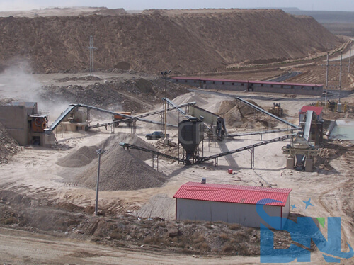 150th stone and sand making plant in Ethiopia