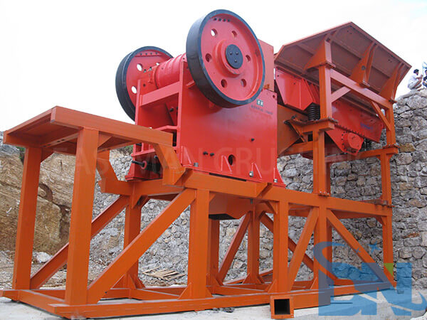 200tph crushing plant jaw crusher