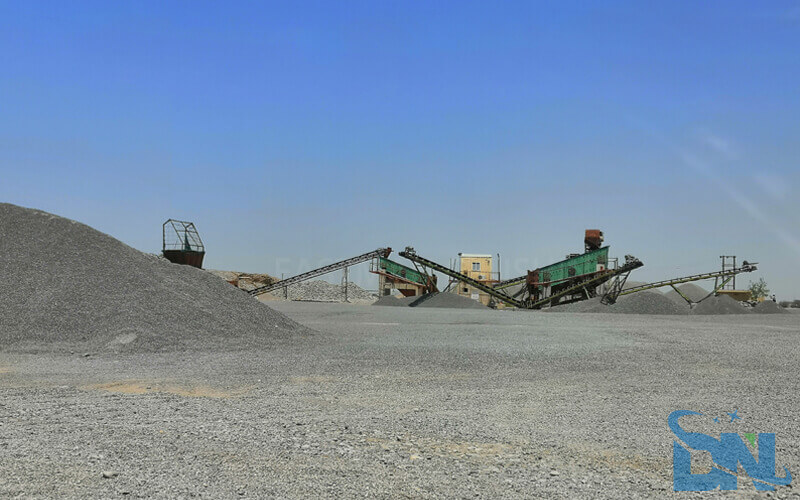 350tph sand making plant
