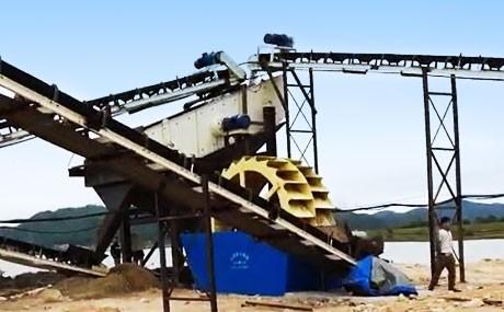500tph Quartz Sand Making Plant