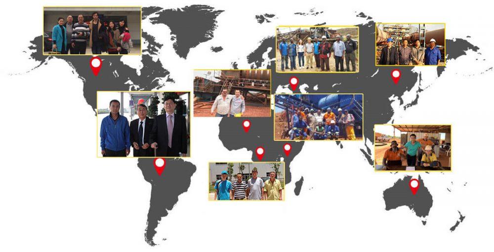 customer around the world