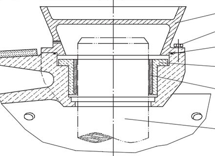 bearing seal structure