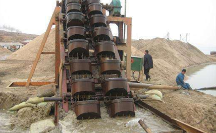bucket sand washer machine