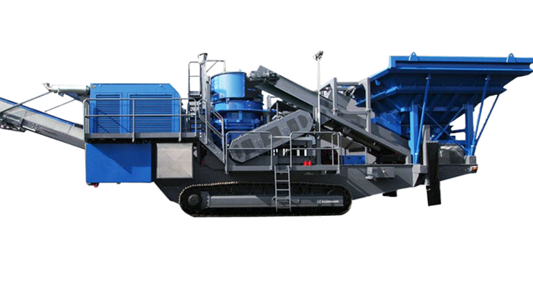 wheel mobile crusher