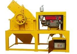 diesel drive hammer crusher
