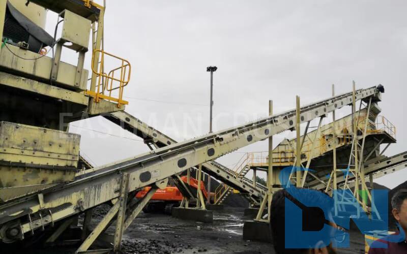 dn 250tph rock crushing plant equipment