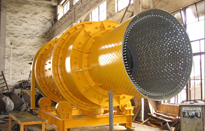 drum sand washing machine