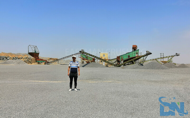 eastman engineer support customer's sand plant in oman