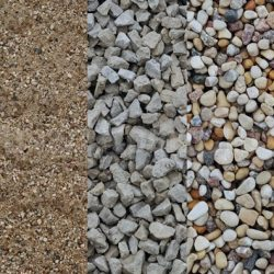 gravel aggregate