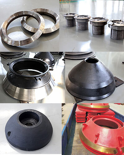 hp cone crusher wear parts