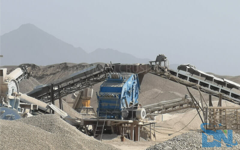 impact crusher for aggregate plant
