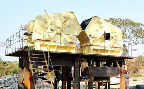 iron ore crushing plant