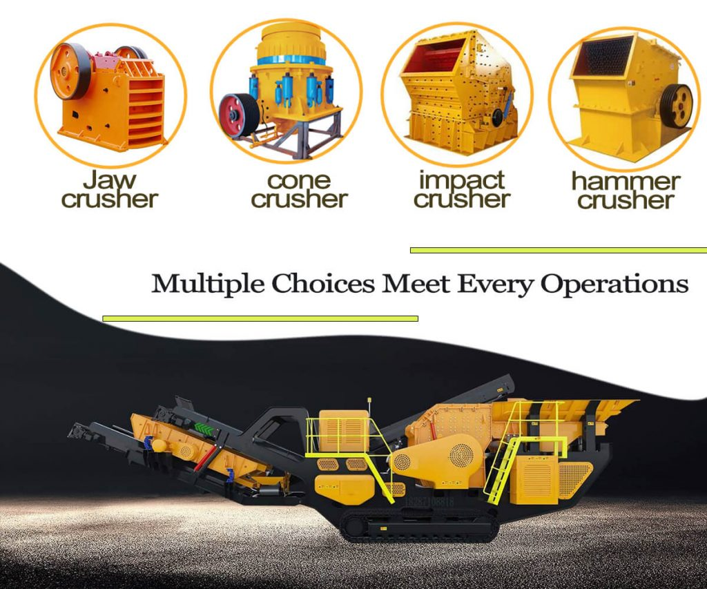 mobile crusher plant configuration