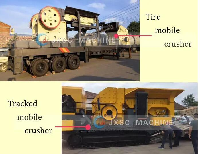 mobile crusher types