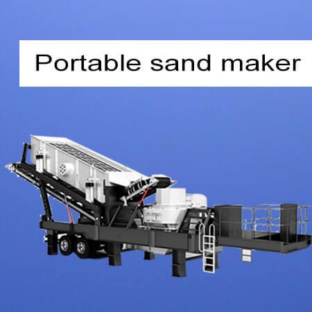 portable sand maker