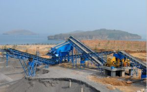 river stone crusher plant