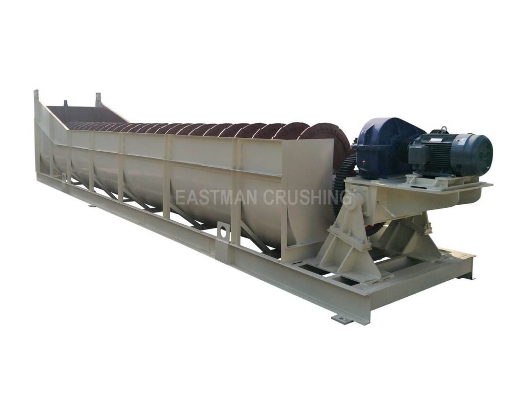 sprial sand washing machine