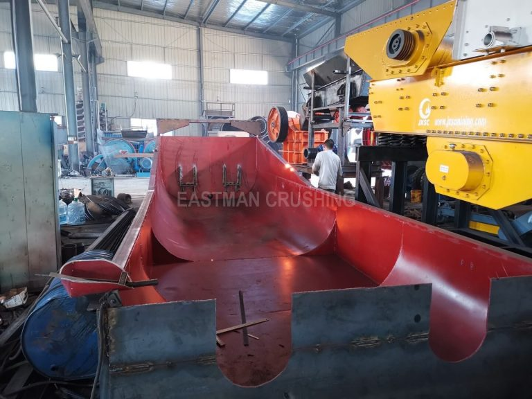 sprial sand washing machine in our factory