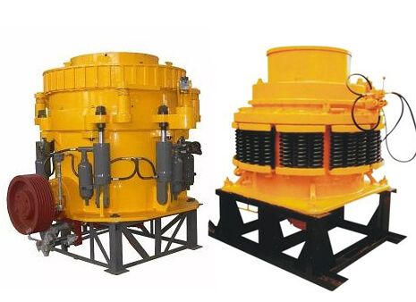 types of cone crusher