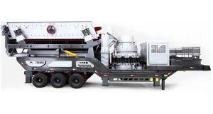 wheel mobile crusher